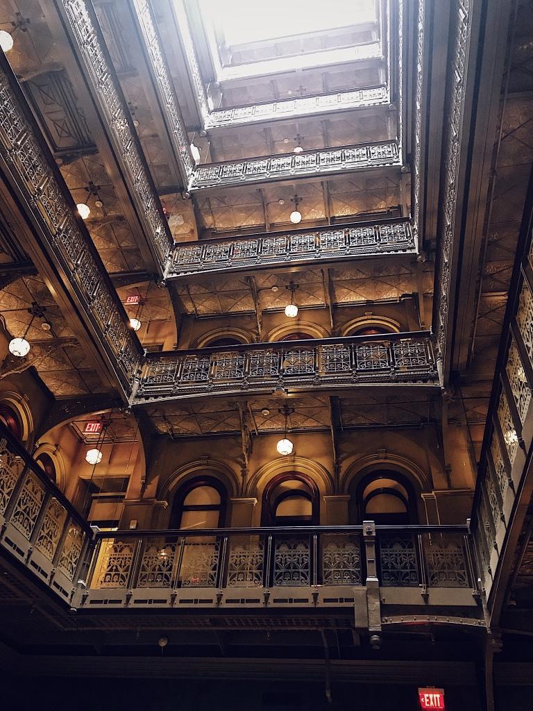 Atrium from below