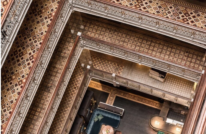 Atrium from above